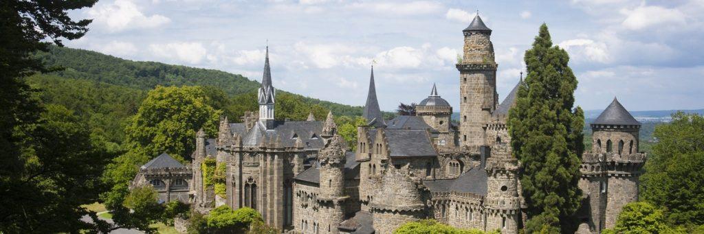 Замок Левенбург в Германии