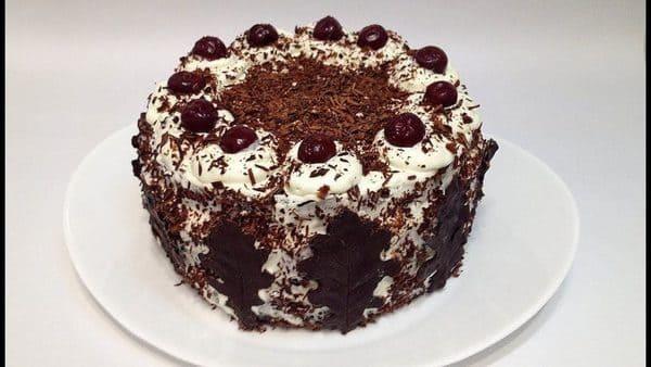 Шварцвальдский торт Чёрный лес Германия