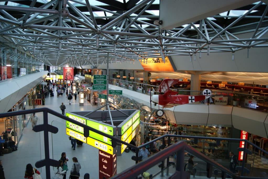 Берлинский аэропорт Тегель изнутри
