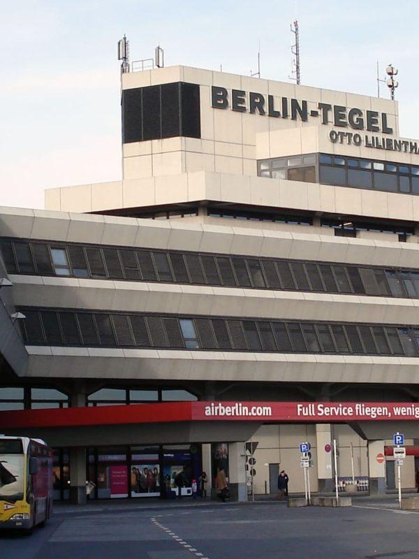аэропорт Тегель в Берлине