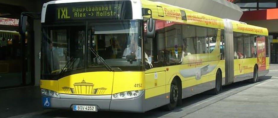 скоростной автобус TXL в Берлин