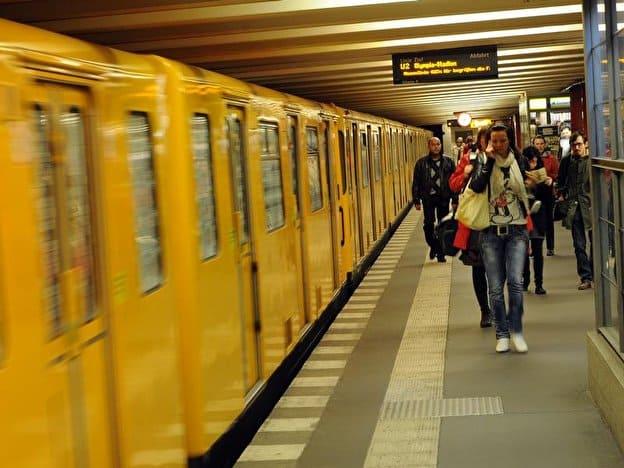 станции метро в Берлине