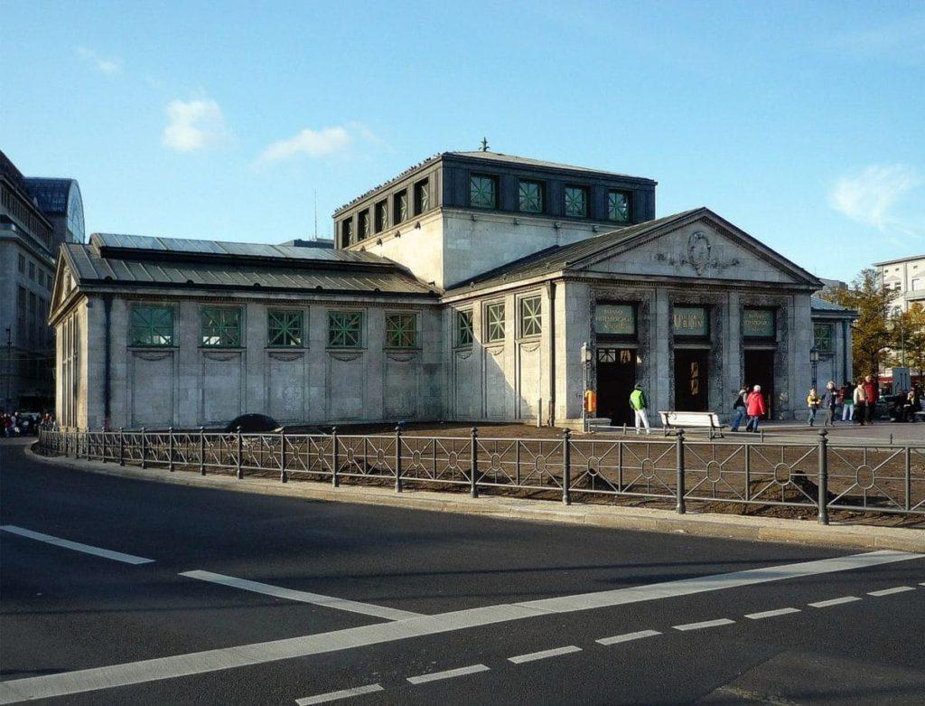 Станция метро Wittenbergplatz