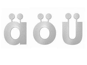 Необычные символы в немецком