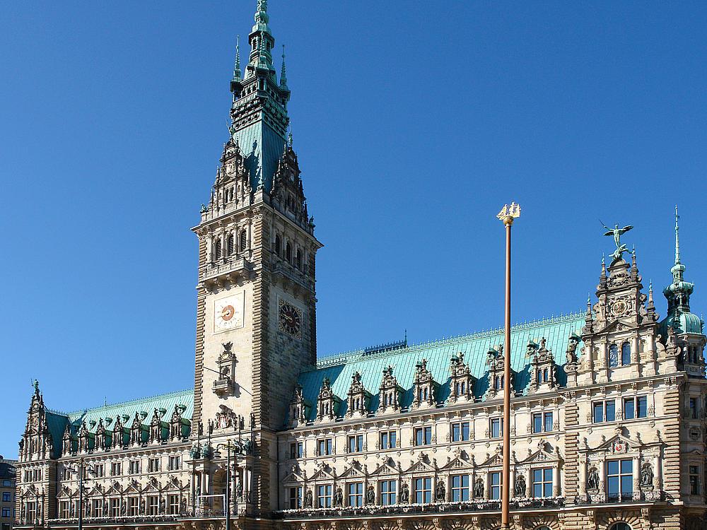 Ратуша в Гамбурге